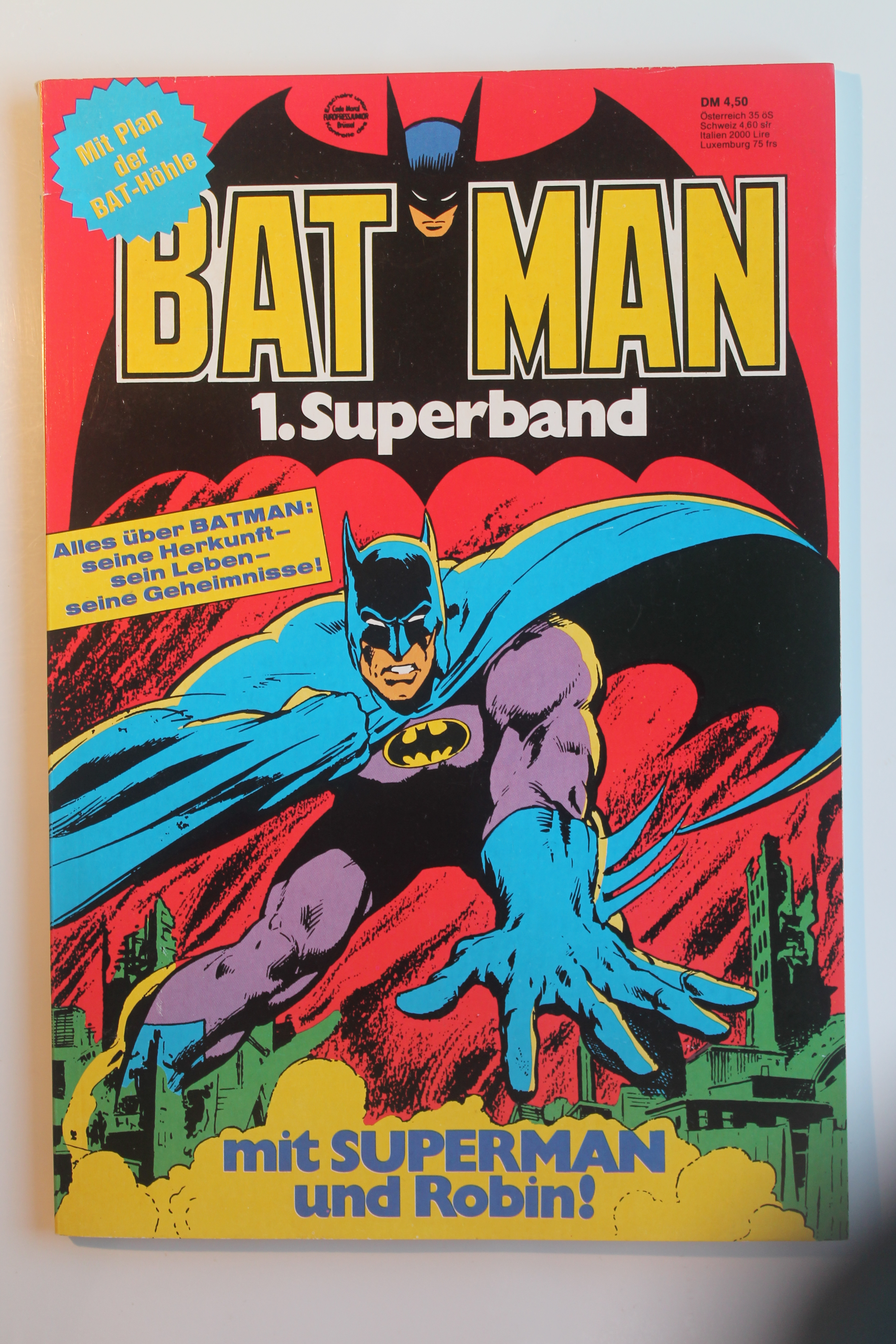 Batman superband 1